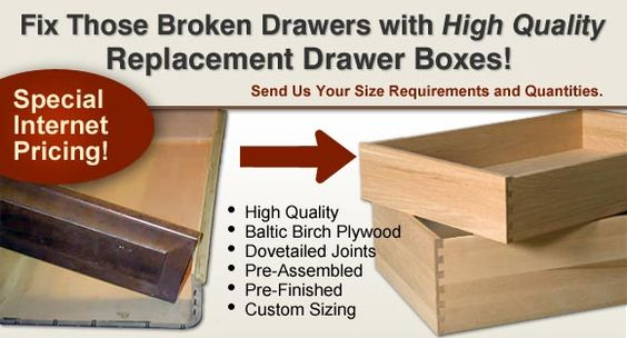 custom replacement cabinet drawer boxes home eye candy drawer box replacement cabinet and drawer organizers