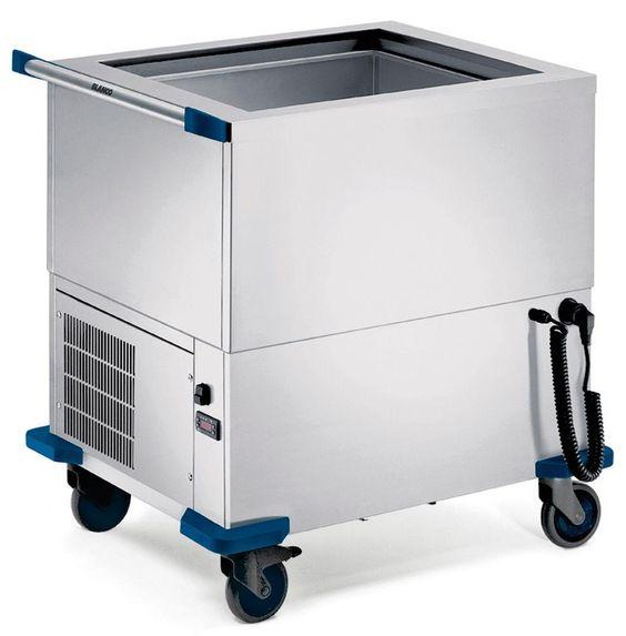 GTARDO.DE:  Speisenausgabewagen, Kühlwanne für 2 x GN 1/1-200, 0,4 kW, gekühlt 5 477,00 €
