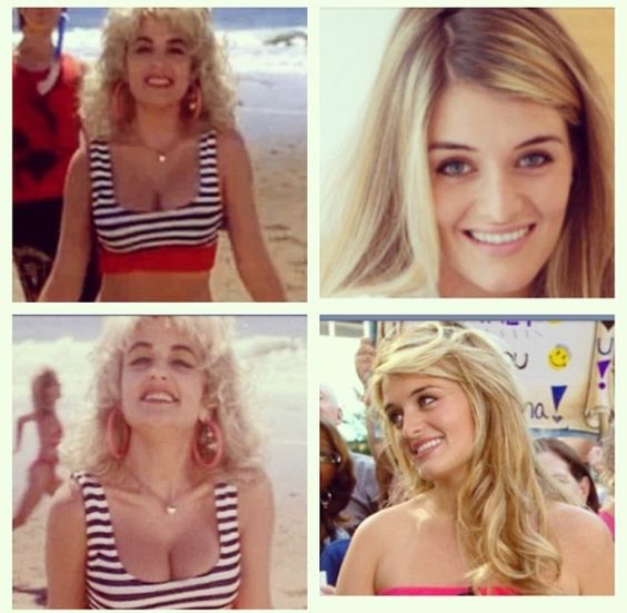 Every time I watch Earth Girls are Easy, I swear I'm looking at Daphne Oz. Julie Brown is definitely her doppelgänger.