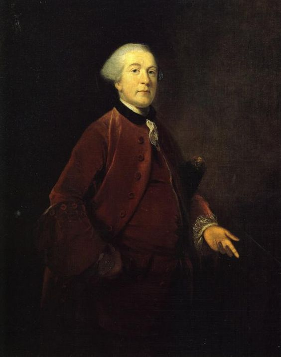 .:. George Ashby, 1756 Joshua Reynolds