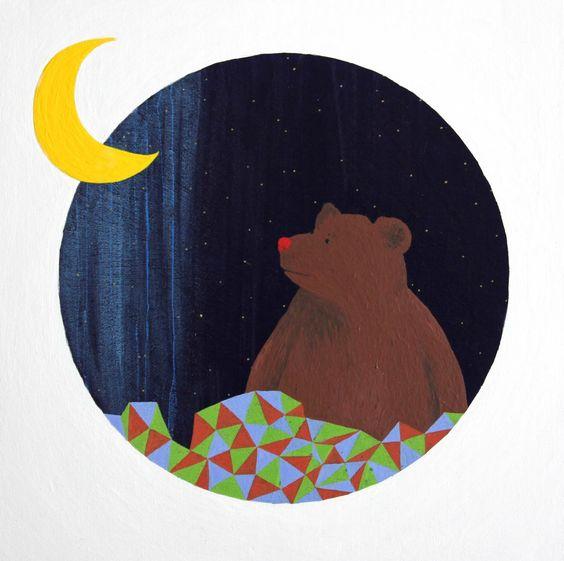 .: dorette: Kunst für Kinder: MondBär