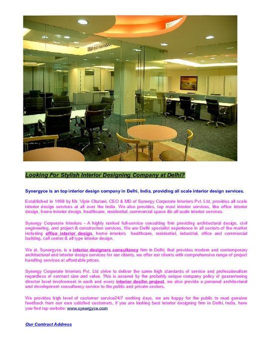 How to Describe Space Using Interior Design Elements | Office interiors, Interior  designing and Interior design companies