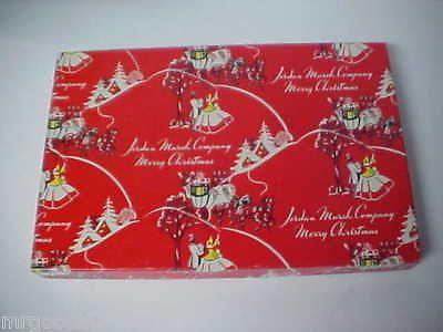 Old Christmas Gift Box From JORDAN MARSH DEPT STORE