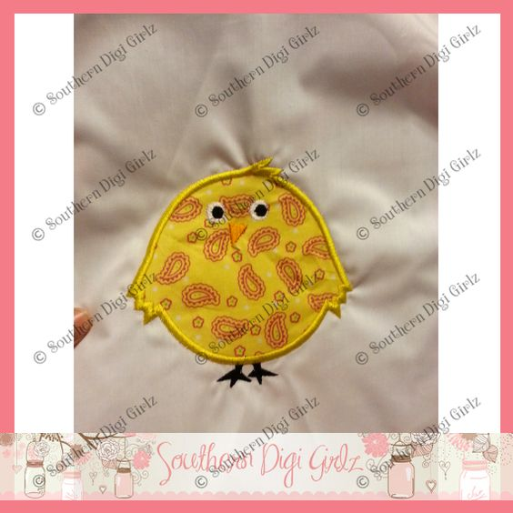 chick from Applique Forum
