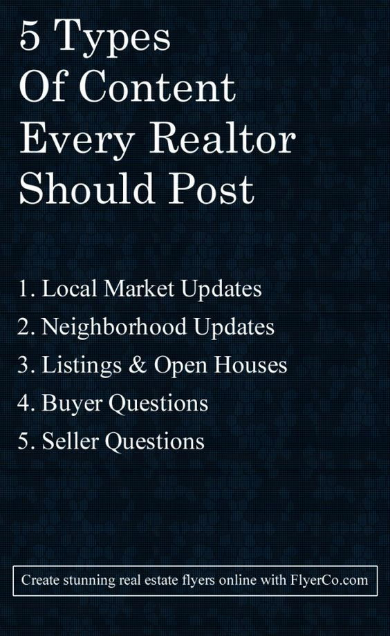 realtor should be posting http flyerco com realestate realtor find a realtor why people should find a realtor
