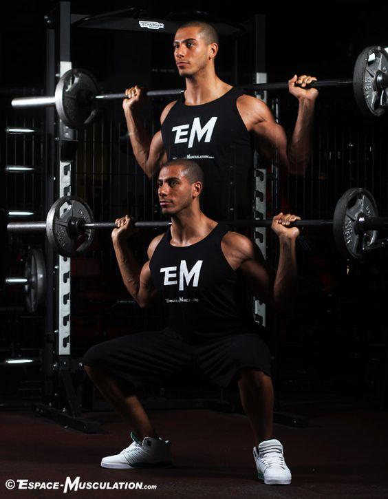 squat guide complet avec 6 variantes pour se muscler les jambes sumo s ances de musculation. Black Bedroom Furniture Sets. Home Design Ideas