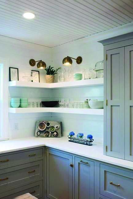 Surprising Corner Shelves Closet Organizer You Ll Love Diy Kitchen Shelves Open Kitchen Shelves Kitchen Cabinet Design