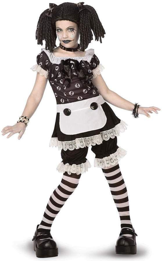 Adulto donna ragazza donna bambola di pezza Dolly Halloween Costume NUOVO