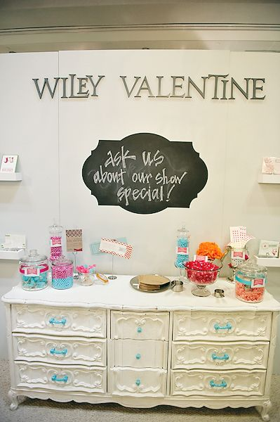 booth display - Wiley Valentine