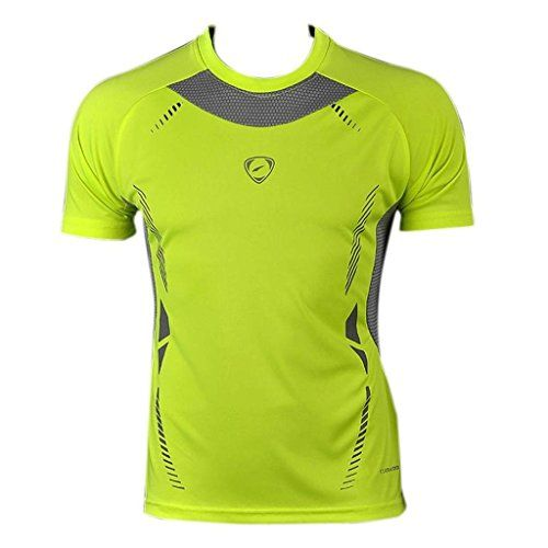 Jeansian Men's Sport Quick Dry Short Sleeve T-Shirt LSL3225 GreenYellow S jeansian http://www.amazon.com/dp/B00LWTV4YE/ref=cm_sw_r_pi_dp_5R0.wb04X01YS