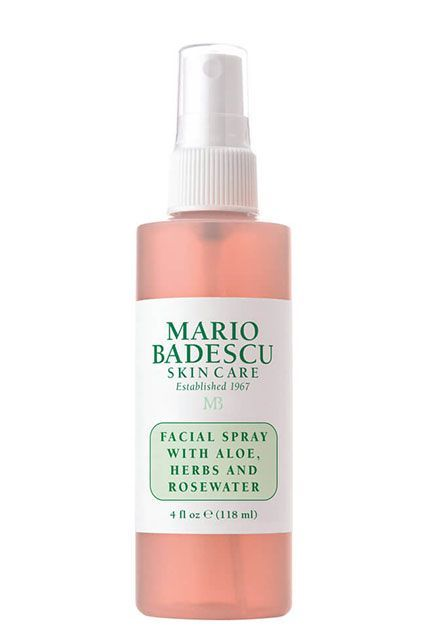 15 Under-$10 Beauty Buys At Ulta #refinery29 http://www.refinery29.com/best-ulta-products-under-10-dollars#slide-8 This refreshing pink facial mist is packed with skin-loving ingredients like aloe vera juice, rosewater, and thyme leaf extract.Mario Badescu Facial Spray with Aloe, Herbs, and Rosewater, $7, available at Ulta Beauty....