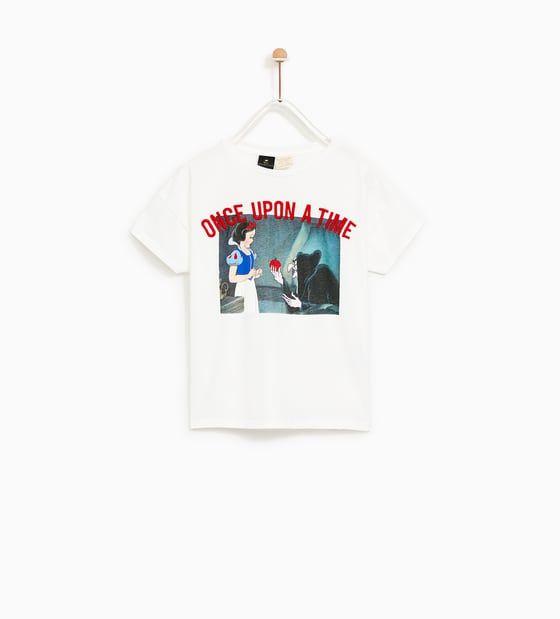 tee shirt licorne femme zara