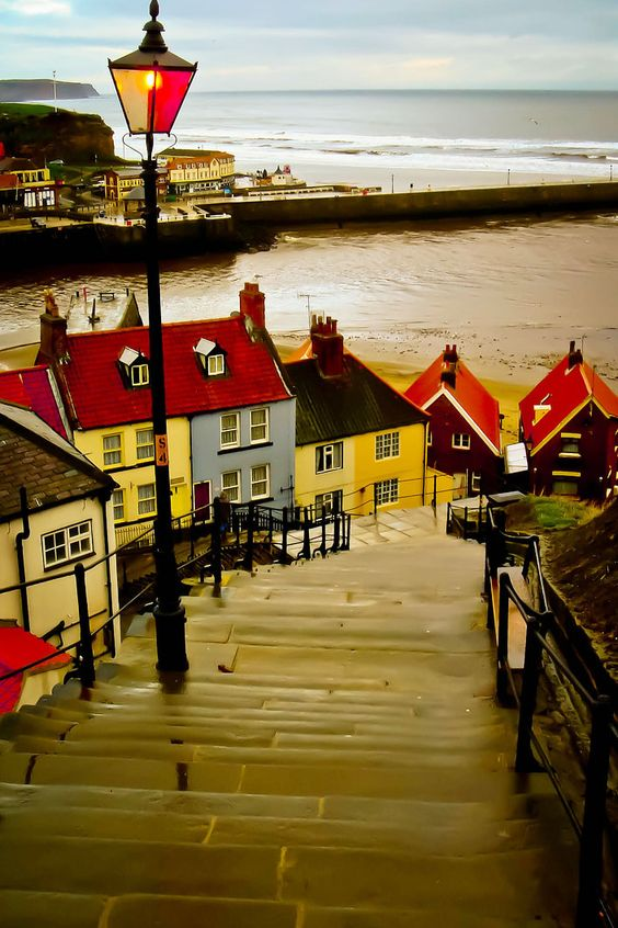 Whitby Steps, Yorkshire, England......bring on March...