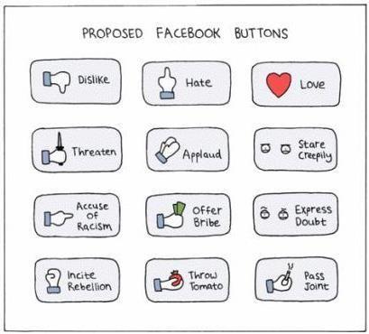 more facebook button choices