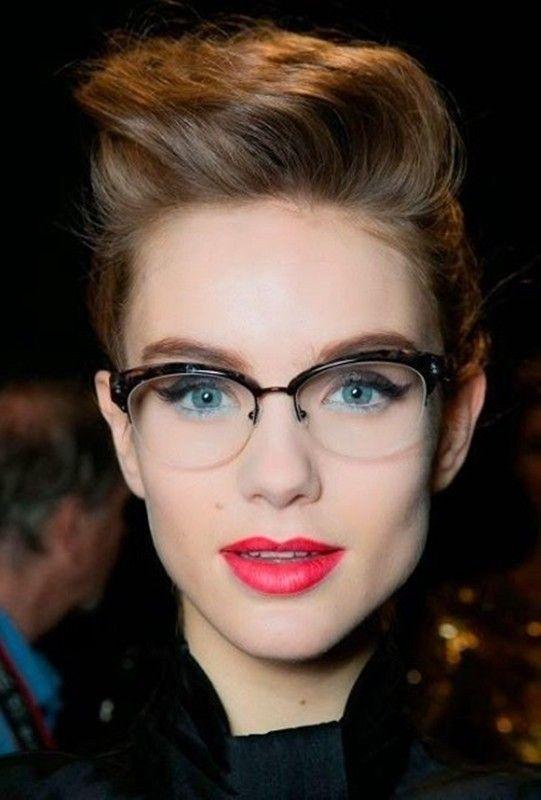 Moda Anti Idade Oculos De Grau Tambem Nos Deixa Bonita
