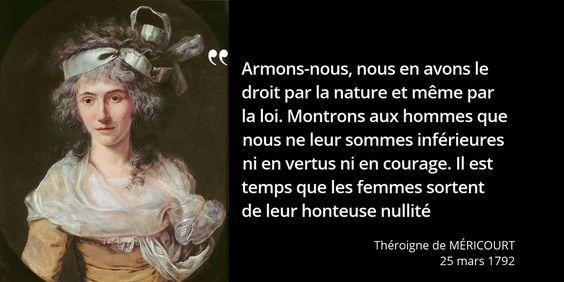 Surnommée la Belle Liégeoise, elle entre en révolution comme on entre en religion #histoire de #France en #citations