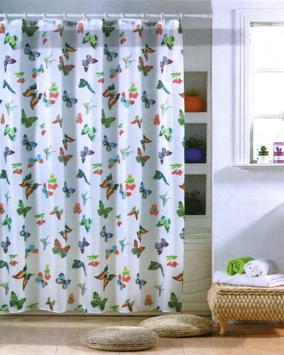 Curtains Ideas butterfly shower curtain : Best ideas about Making Butterfies, Butterfly Shower Curtain and ...