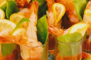 Shrimp Shooters at Antone's Banquet Centre #Shrimp #Shooters #Food #Catering #AntonesBanquet #AntonesFood http://www.antonesbanquet.com/