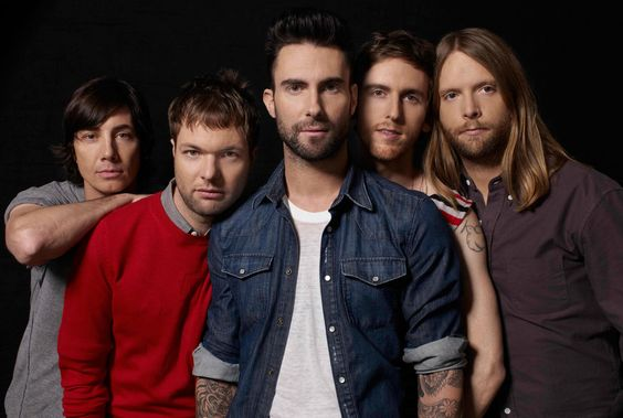 Group Photo of Maroon 5
