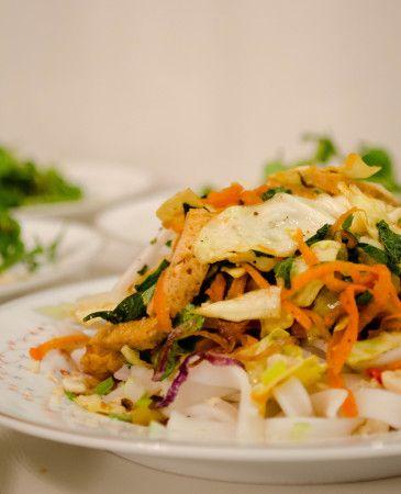 Tofu Noodle Salad