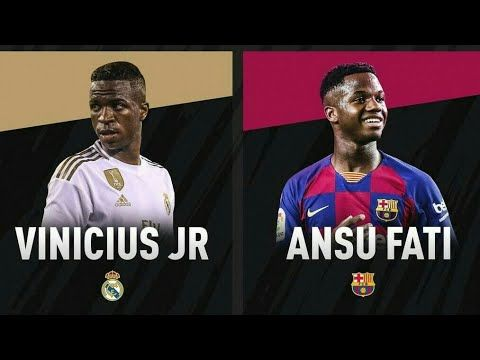 Ansu Fati Vs Vinicius Junior Who Is The Best Youtube Junior Youtube Good Things