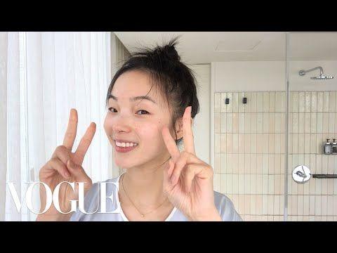 Model Xiao Wen Ju S 9 Step Nighttime Skincare Routine Beauty