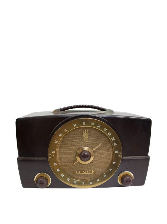 Vintage Zenith Radio at MyHabit