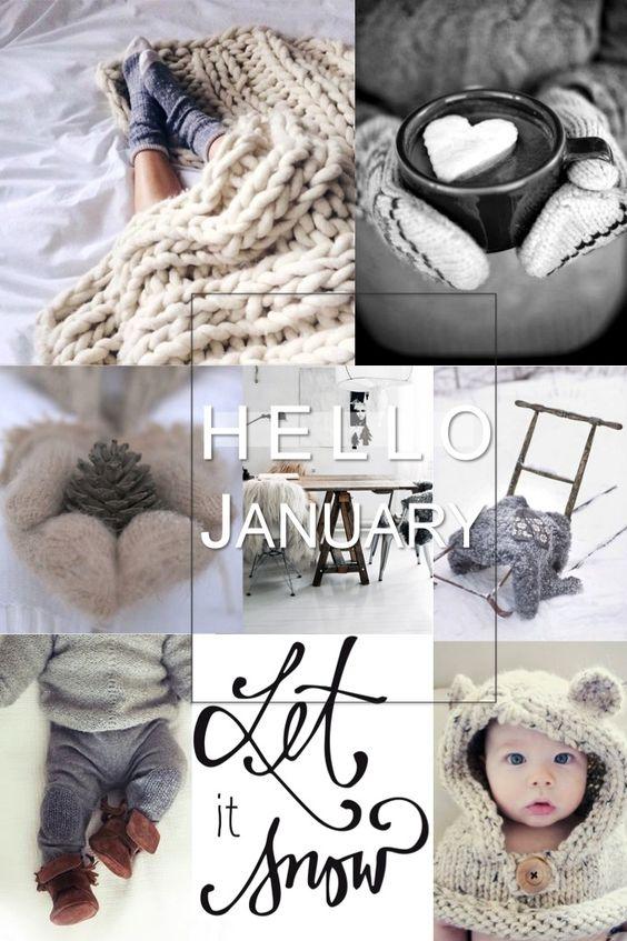 Hello January   new year mood