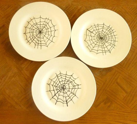 Ideais de decoração para o Halloween  #halloween