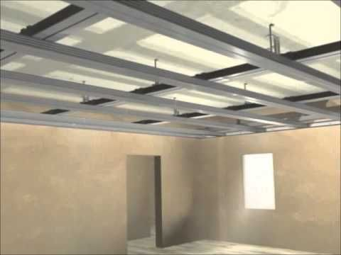 Knauf Ceiling Mounting Youtube Placo Platre Placoplatre