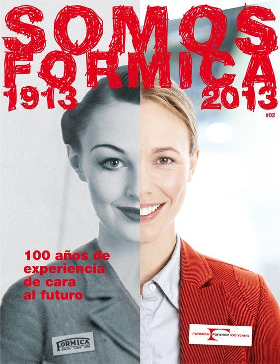 Revista interna dentro de las actividades de la celebración del Centenario de Formica Group #2