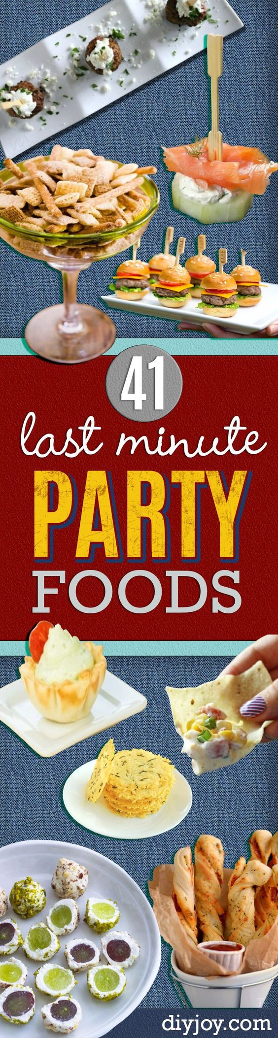 41 last minute party foods labor day fun drinks and ForLast Minute Party Food