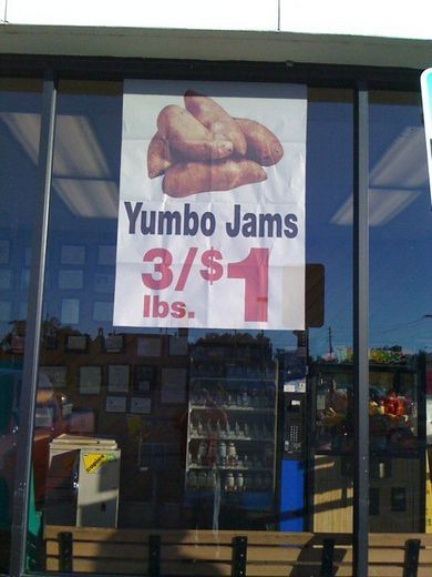 maybe they really meant yumbo jams..... lol