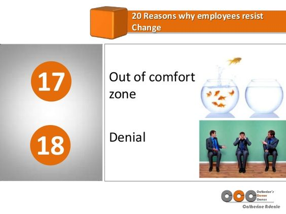 20 Reasons Why Employees Resist Change in the Workplace