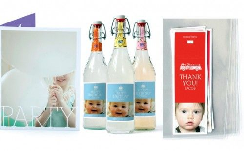 Personalized party products