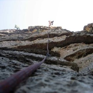 Swiss Wall in Jacks Canyon, AZ