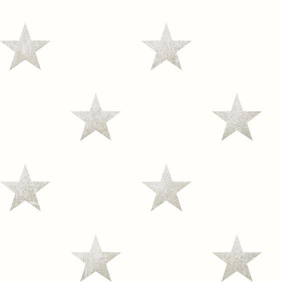 Papel pintado estrellas piedra de bebe coordonn papel - Habitacion bebe papel pintado ...