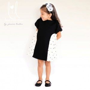 Lil luxe collection modern belle dress pdf pattern 18m 8 sewing