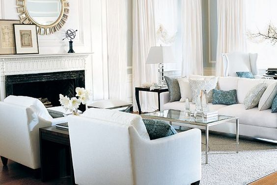 Lay Out For Family Room Sofa And Chairs With Additional Accent Chairs Behind Sofa Under Window