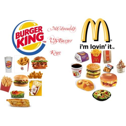Burger King Vs Mcdonalds Mcdonalds Vs Burgerking