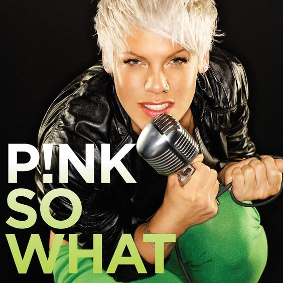 Pink – So What (single cover art)