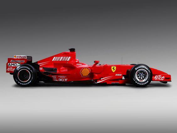 2007 Ferrari F2007.... Still the best looking F1 car from Ferrari!