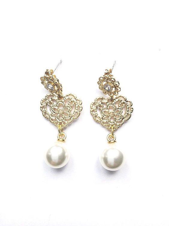 Ohrringe *Perlen für's Dirndl*