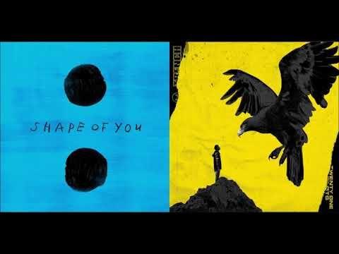 Twenty One Pilots Vs Ed Sheeran Shape Of Chlorine Mashup Youtube Twenty One Pilots One Pilots The Twenties