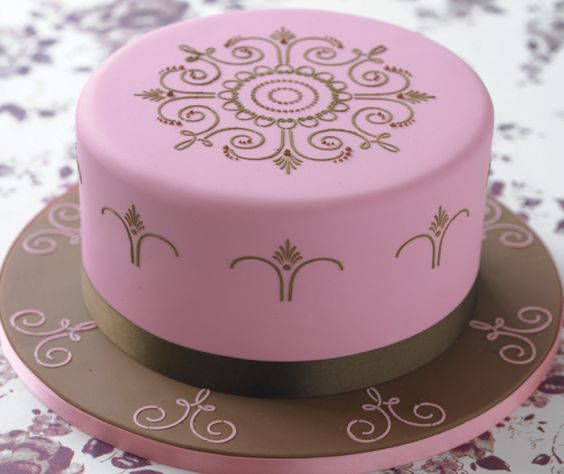 Victoriaanse taart / cake decoration www.hierishetfeest.com
