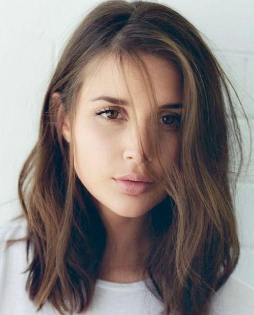 Remarkable Medium Length Haircuts Medium And Medium Lengths On Pinterest Short Hairstyles Gunalazisus