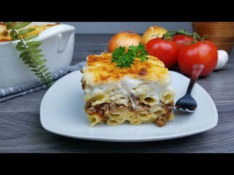طبخ مكرونه بالبشاميل لذيذه جدا جربوها بطريقتي Bechamel Sauce Pasta Recipe Youtube Recipes Beef Recipes Food