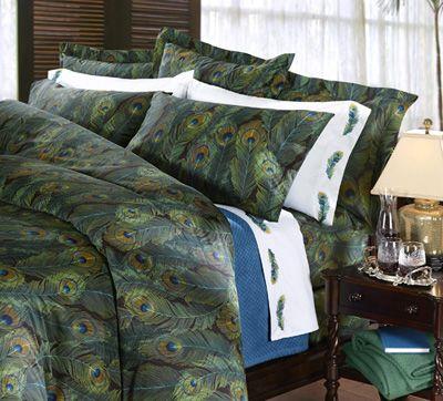 Comfy #cuddledown Pavo Cotton Sateen bedding