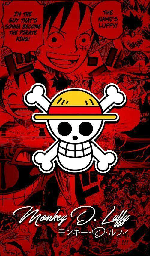 Monkey D Luffy Karakter Animasi Bajak Laut Dan