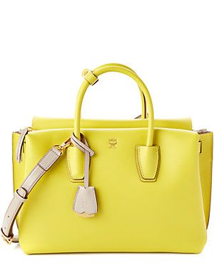 MCM Milla Large Leather Tote